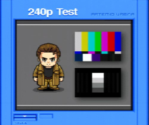 Dreamcast 240p Test Suite Updated to v1.24