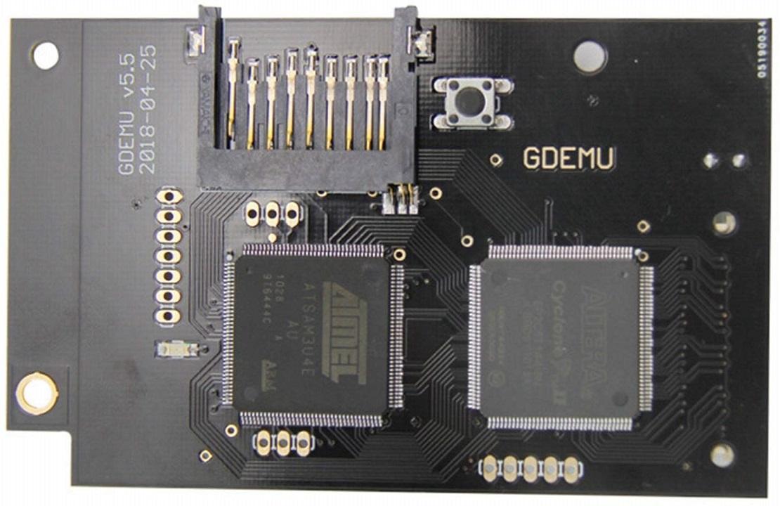 Open-Source GDEMU Menu