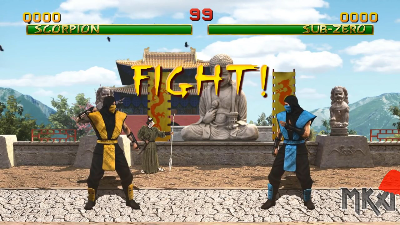 Prototype Mortal Kombat 1 HD Remake Released