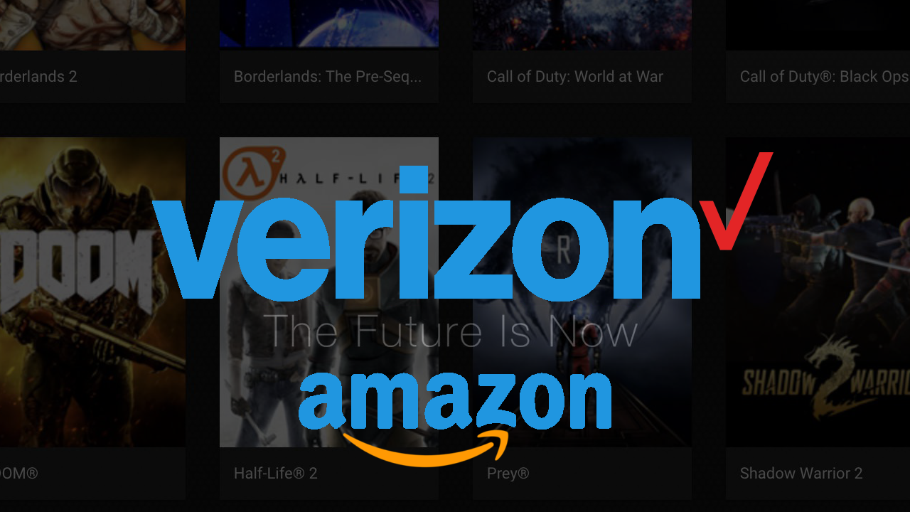 Verizon and Amazon Working on Game Streaming Services