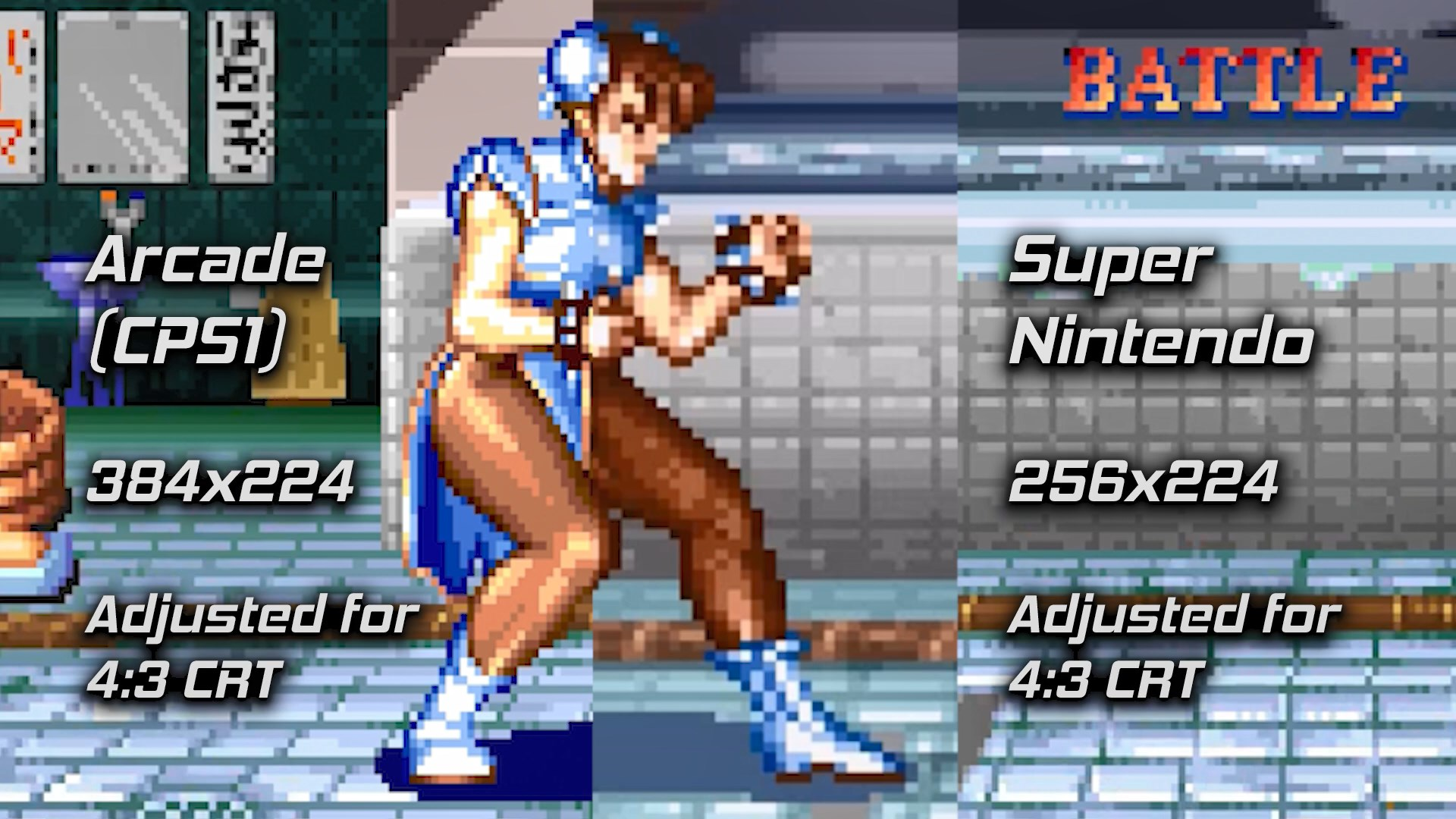 Street Fighter Arcade Aspect Ratio