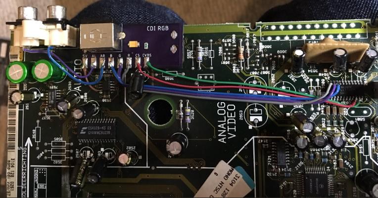CDi 220 RGB Board