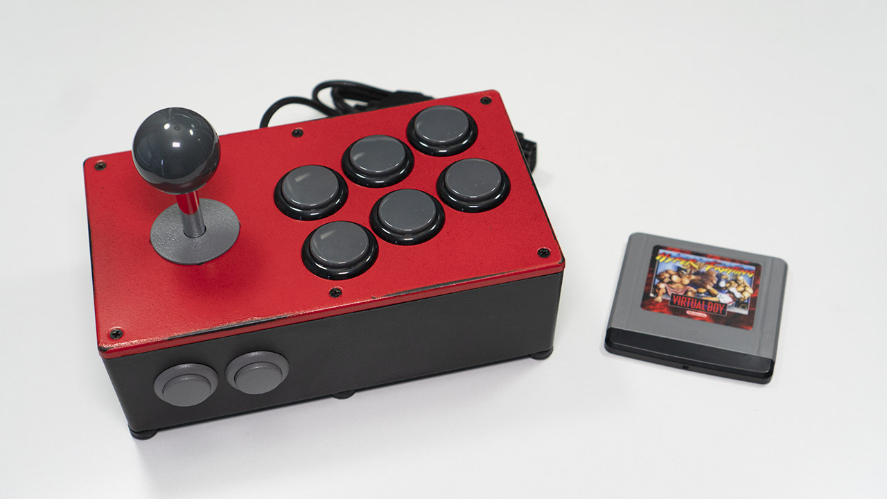 Virtual Boy Fight Sticks On Sale