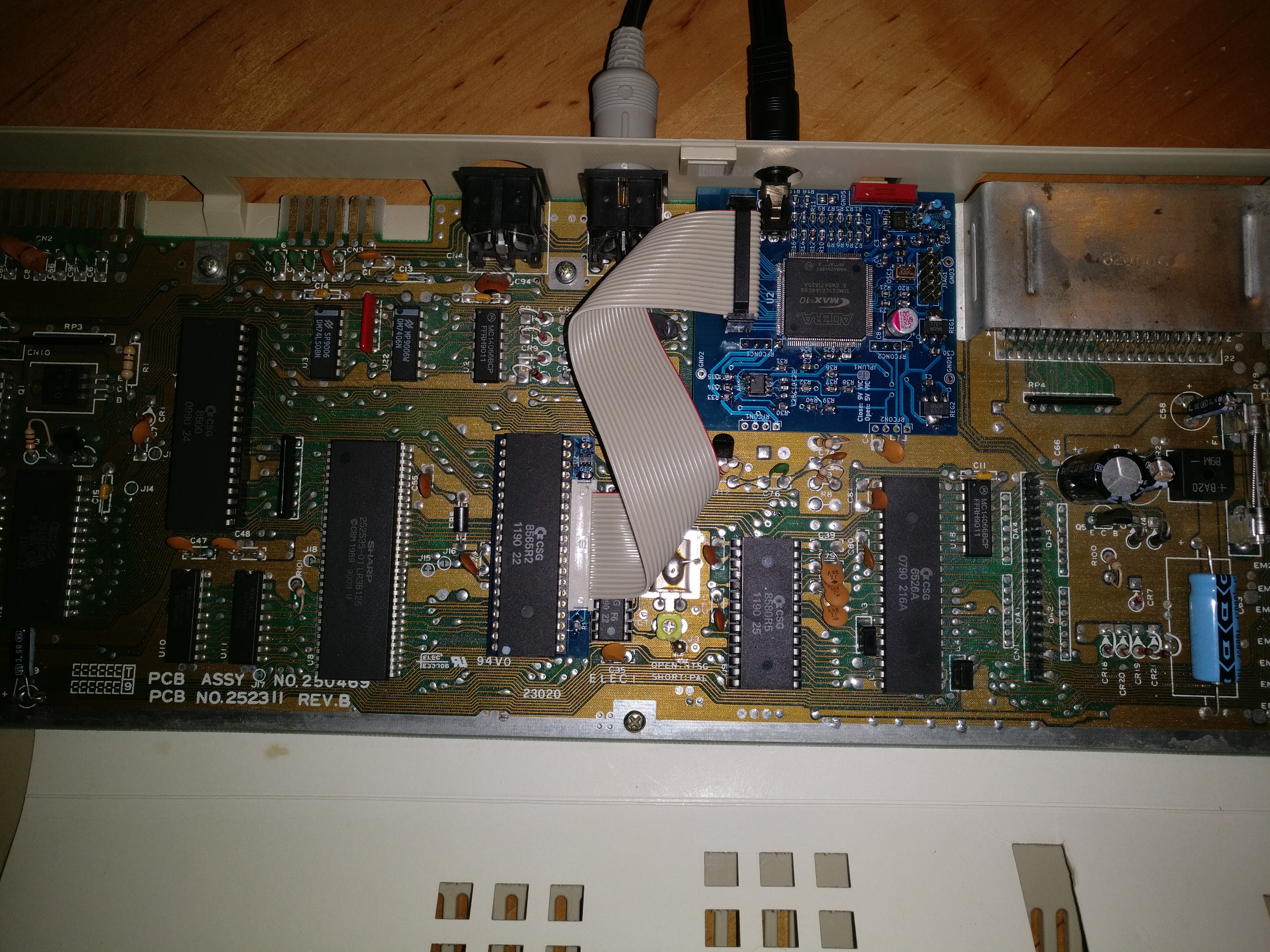 Component Video Enhancement for Commodore 64