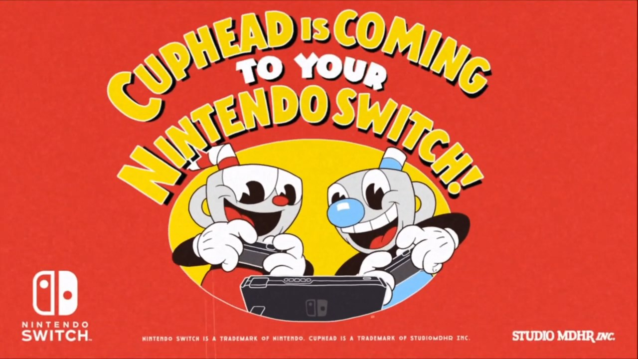 Cuphead Coming to Switch on April 18th