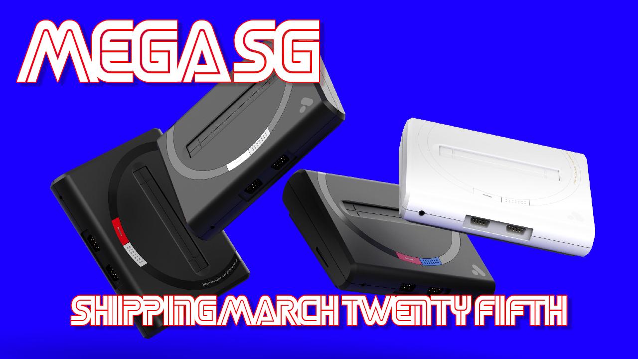Analogue Mega SG Shipping Early
