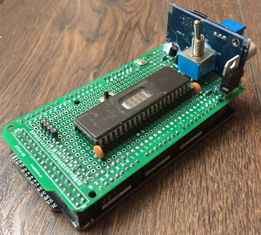 CPS2Companion Transforms Arduino Into CPS2 EPROM Dumper/Flasher