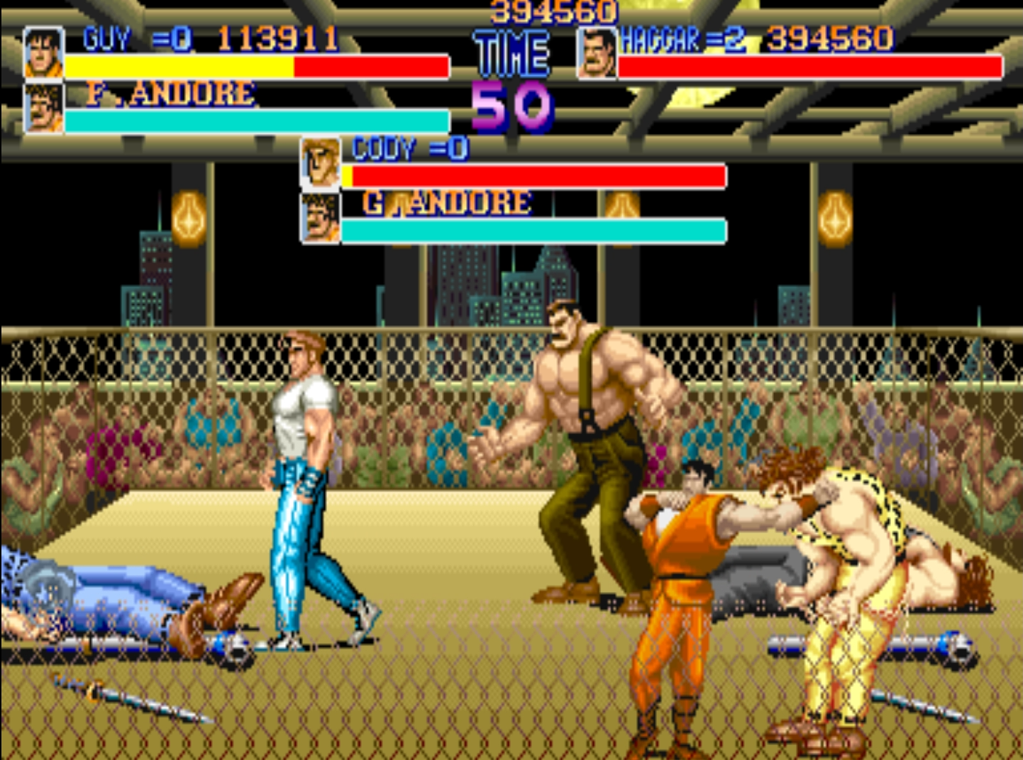 Final Fight 30th Anniversary brings 3-Player Mode to Real Arcade Hardware
