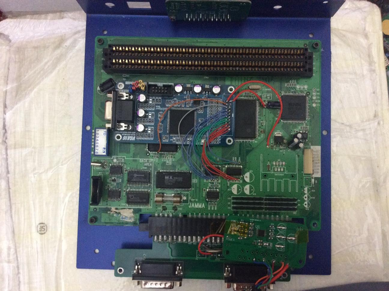 Behar Bros Tease VGA Neo Geo Prototype