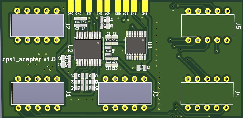CPS1HDMI Adapter Boards