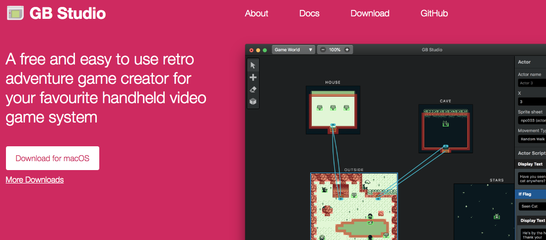 GB Studio Lets YOU create Gameboy Games For Free