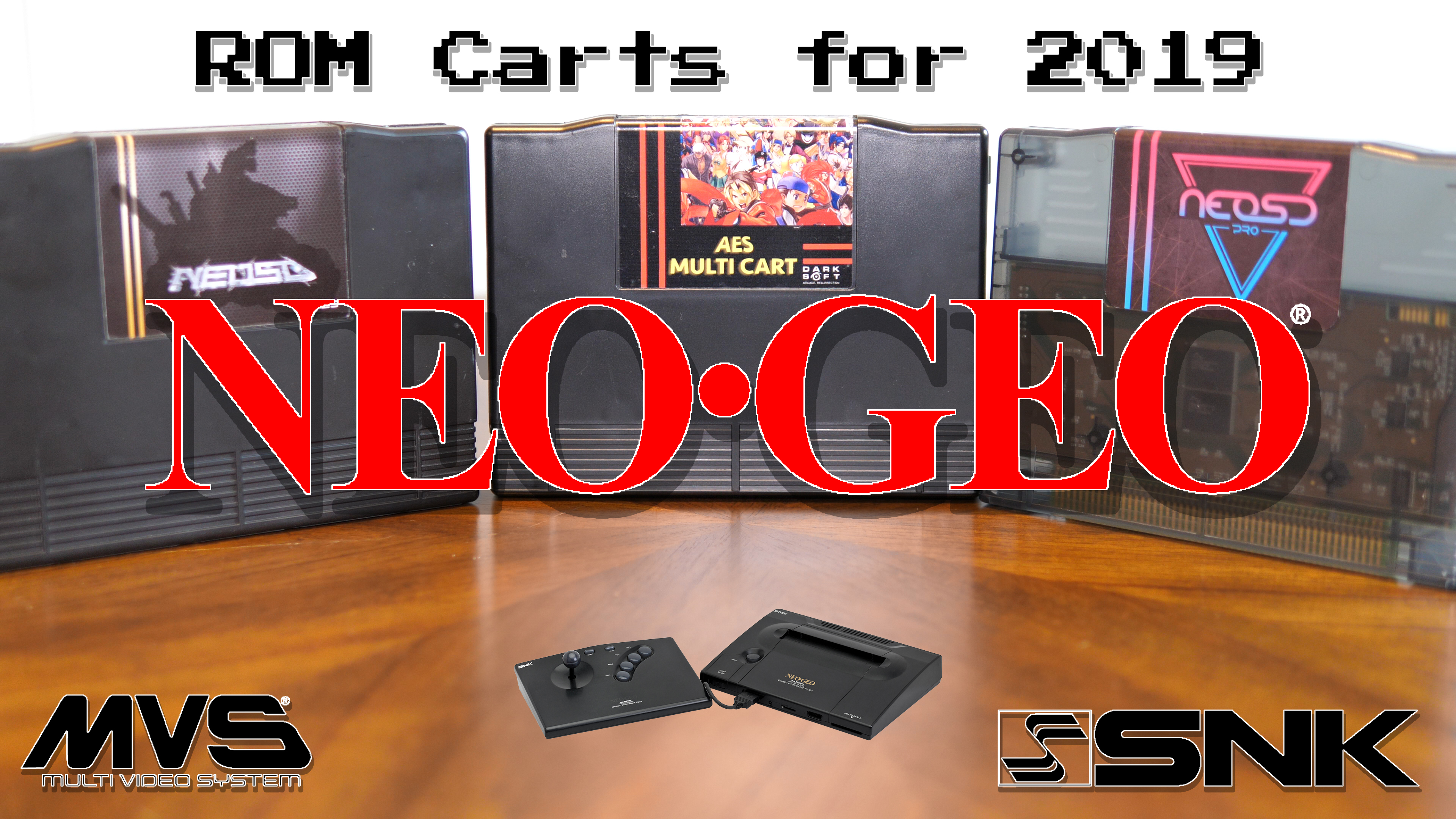 Neo Geo ROM Cart Comparison