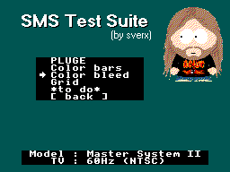 SMS Test Suite: Work in Progress