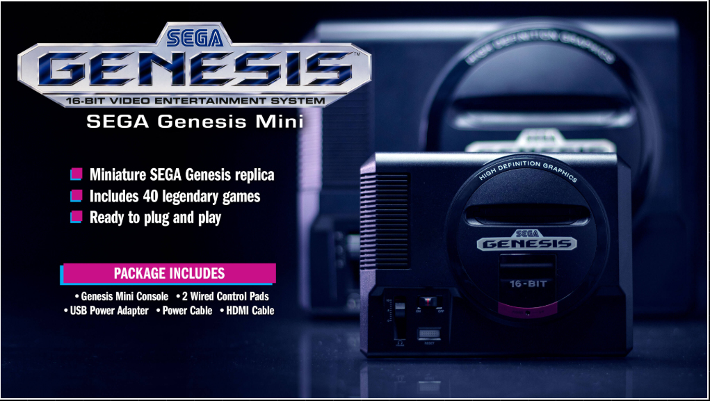 Sega Announces Final Genesis Classic Game List