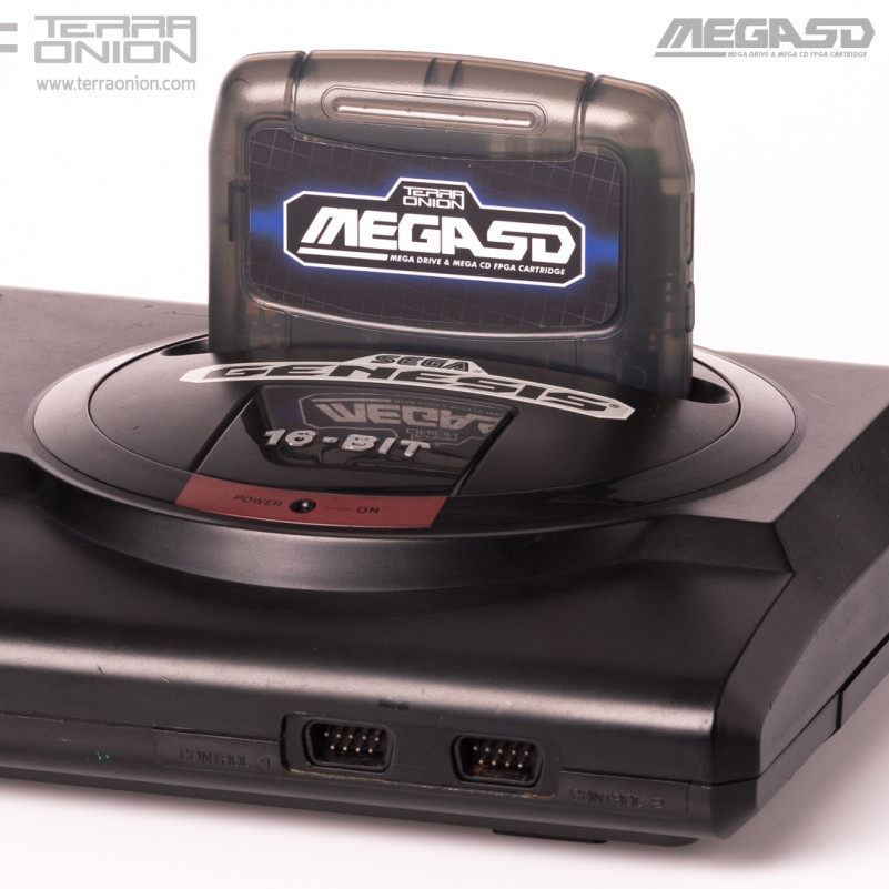 Terraonion Mega SD: World's First Sega CD ODE