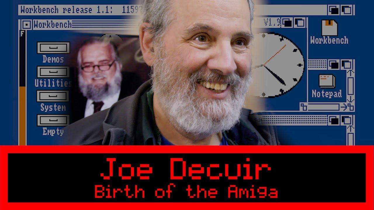 Birth of the Amiga Interview (Joe Decuir)