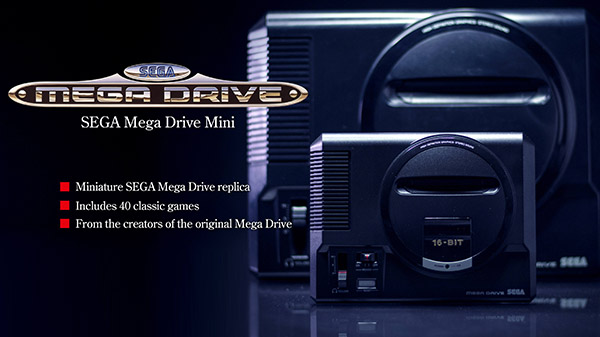 Sega Mega Drive Mini Delayed Launch in EU