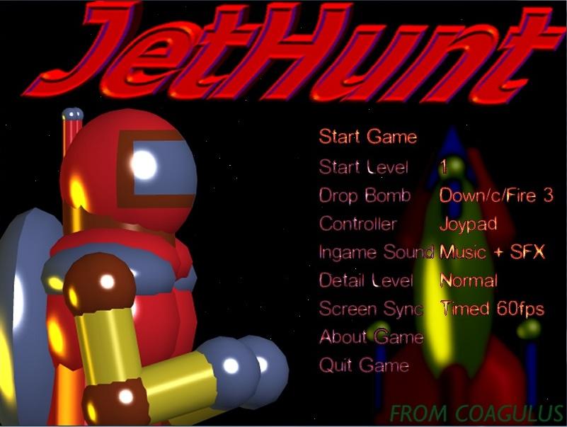 JetHunt AGA released for Commodore Amiga