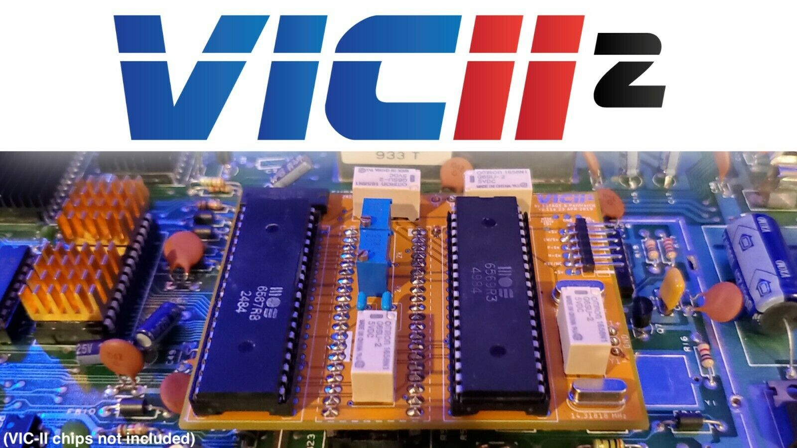 VIC-II² A New PAL/NTSC Switcher For C64