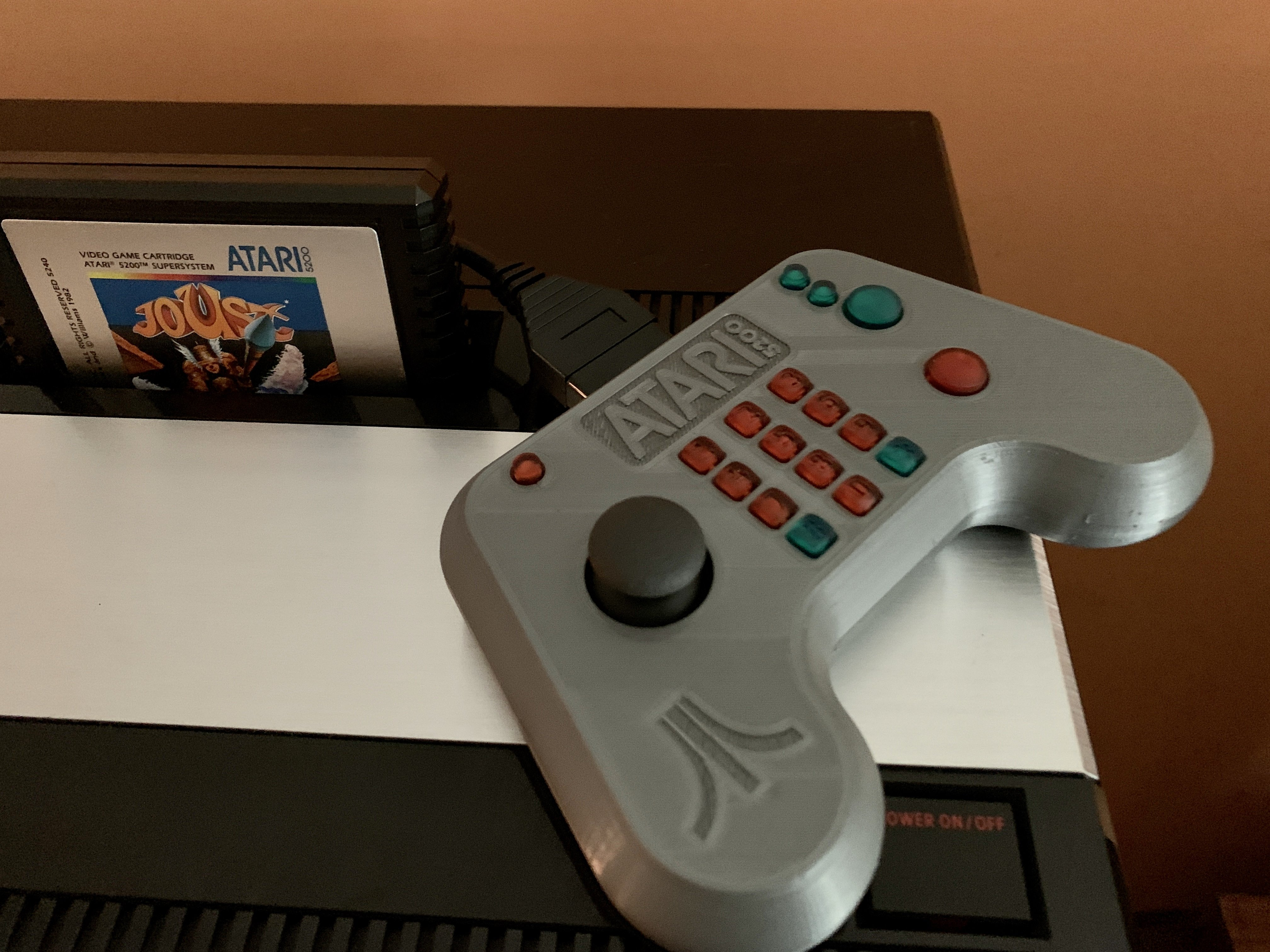 Finally, A New Atari 5200 Controller that Works!