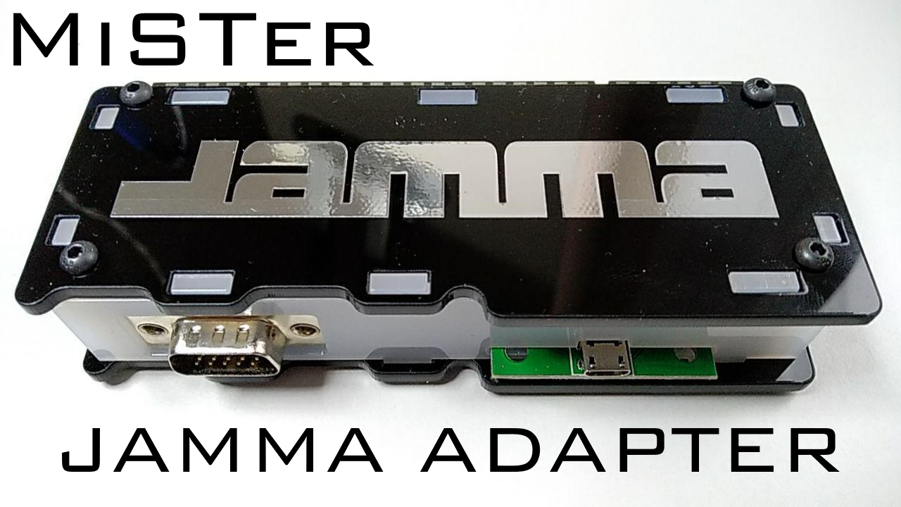MiSTer JAMMA Arcade Interface (and Raspberry Pi) & New Arcade Supergun