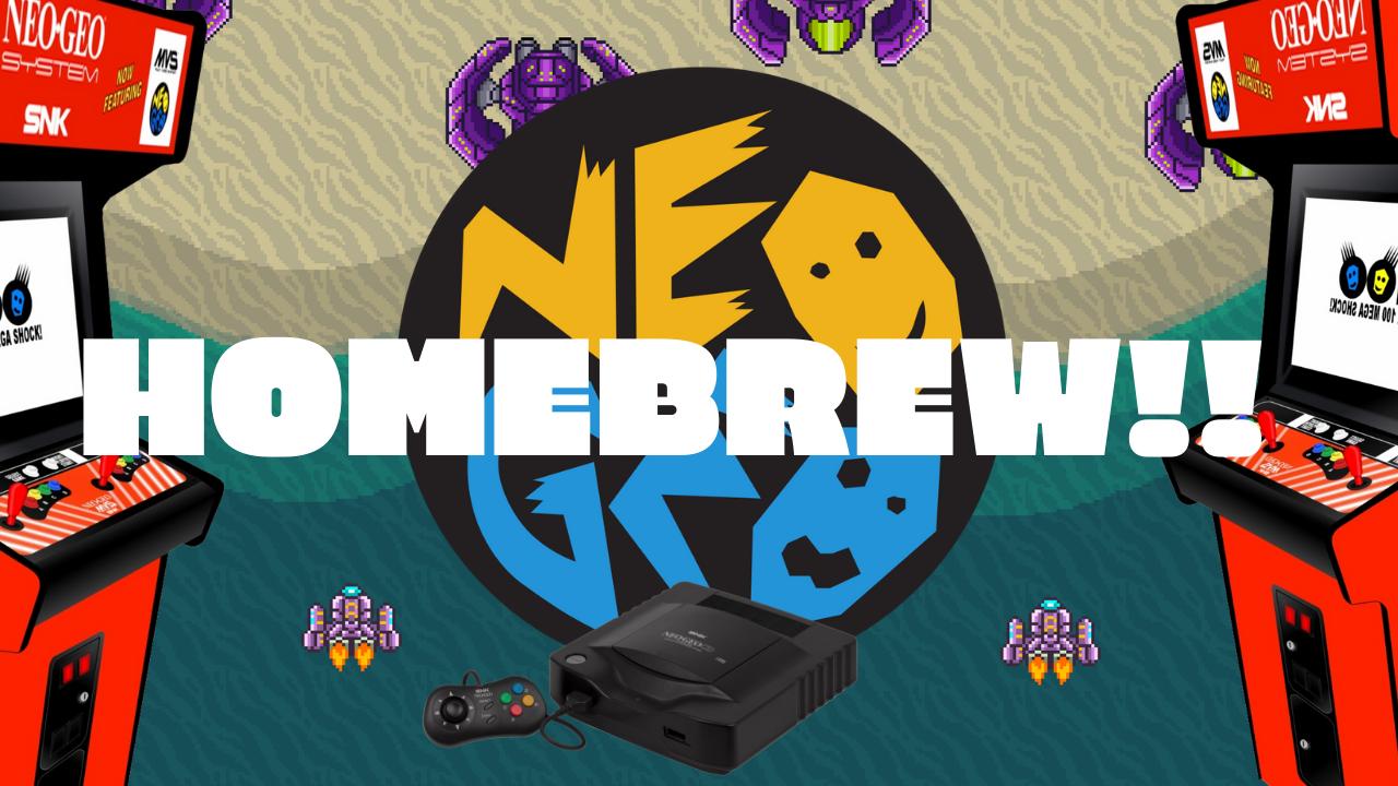 "Project Neon ""Caravan DEMO""  Released to the General Public (Neo-Geo Homebrew)"