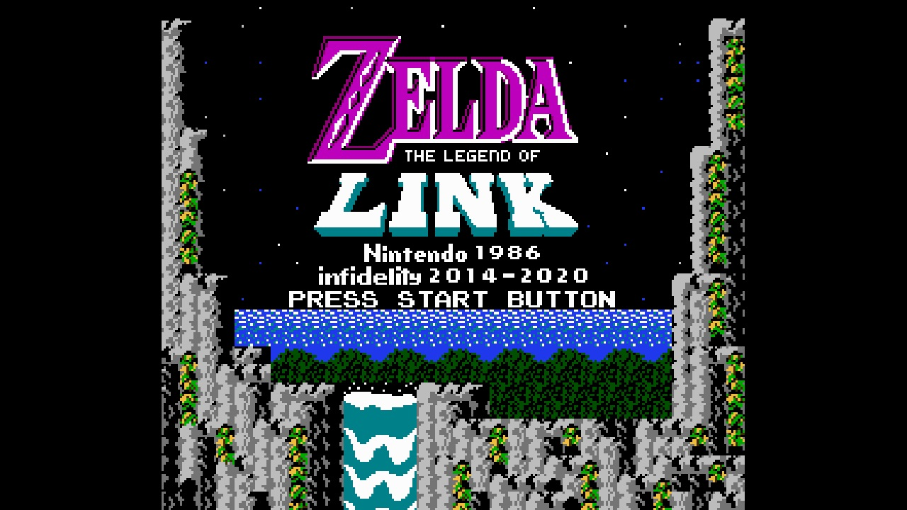Zelda: The Legend of Link Updated